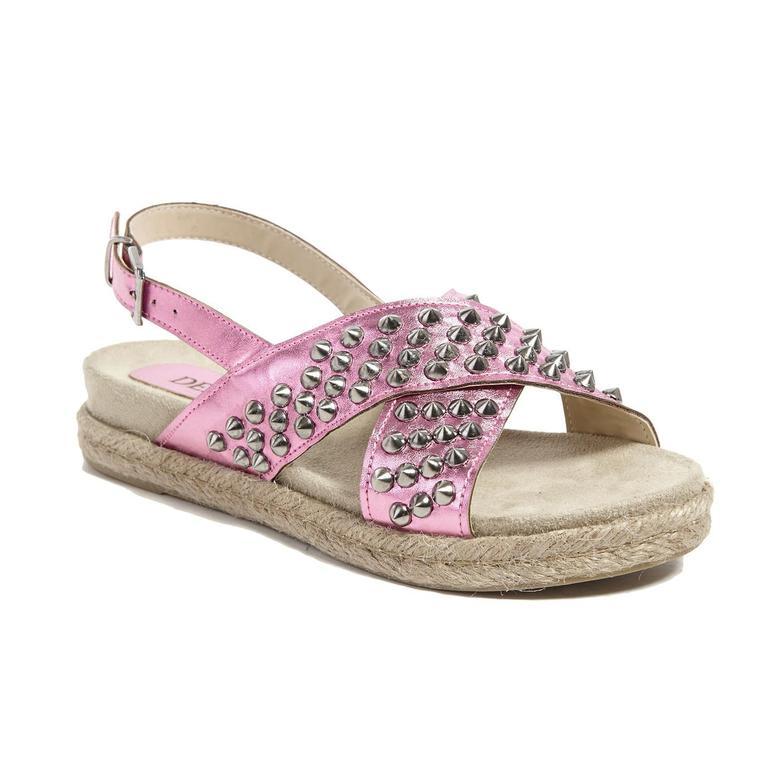 Zımbalı Kadın Sandalet 2010041192007