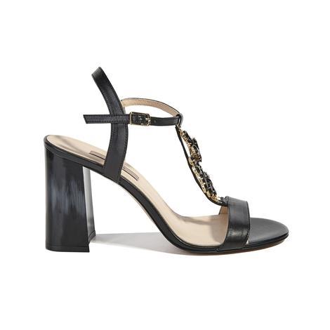 Bethel Kadın Deri Topuklu Sandalet 2010041012004