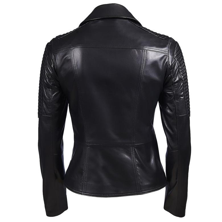 Norma Kadın Deri Ceket 1010027612005