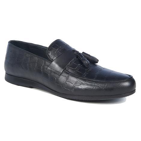 Seth Erkek Kroko Baskılı Klasik Deri Ayakkabı 2010043881004