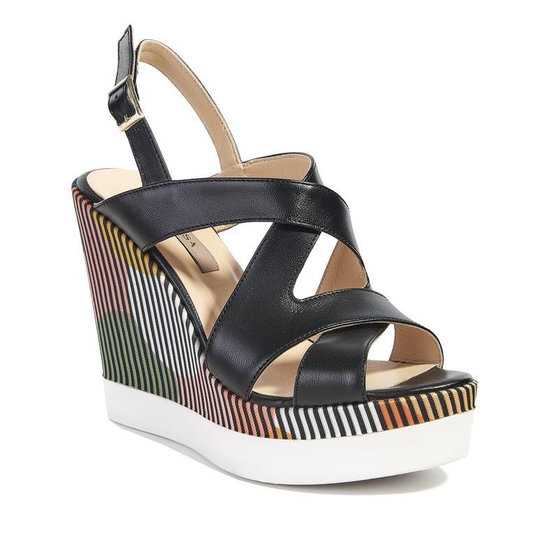 Clarisse Kadın Dolgu Topuk Sandalet 2010040790004