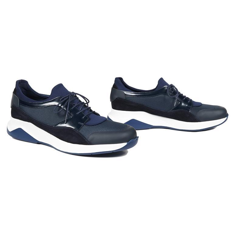 Campus Erkek Deri Sneaker 2010043736008
