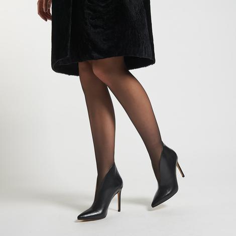 Mali Kadın Deri Bootie 2010043668004