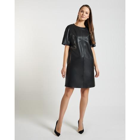 Milena Kadın Deri Elbise 1010027403002