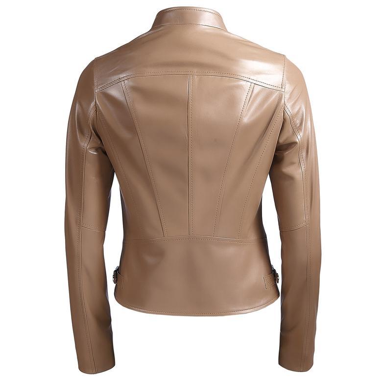 Paride Kadın Deri Basic Ceket 1010027776006