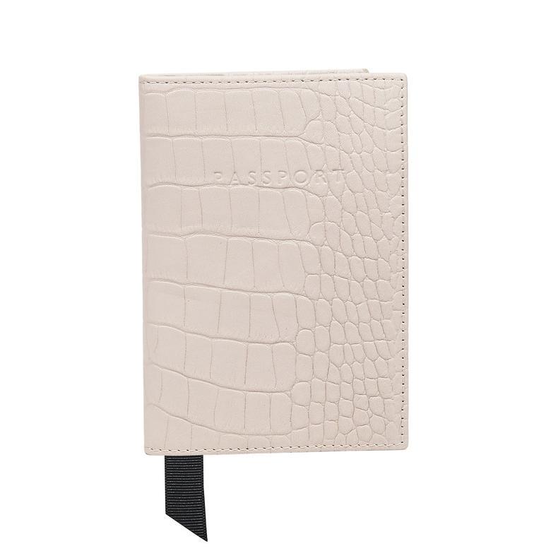 Alameda Mat Kroko Baskılı Deri Pasaportluk 1010027788001