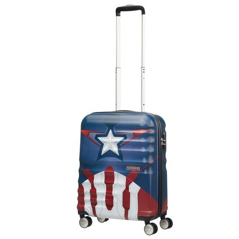 American Tourister Captain America Close-Up - Kabin Boy 55 cm Sert Valiz 2010044046001