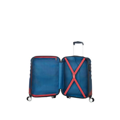 American Tourister Captain American Close-Up - Kabin Boy 55 cm Sert Valiz 2010044046001