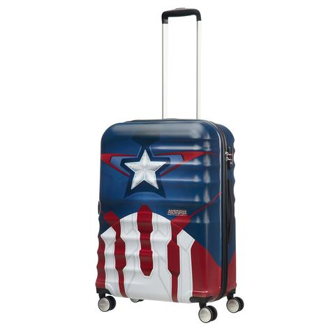 American Tourister Captain America Close-Up - Orta Boy 67 cm Sert Valiz 2010044066001