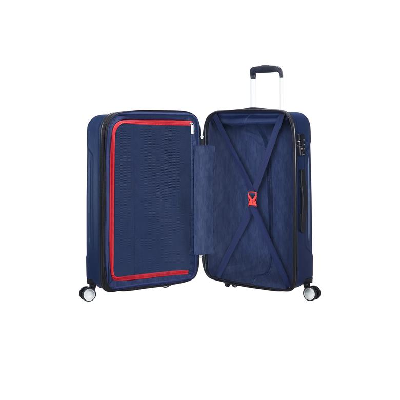 American Tourister Tracklite - Orta Boy 67 cm Körüklü Sert Valiz 2010044177003
