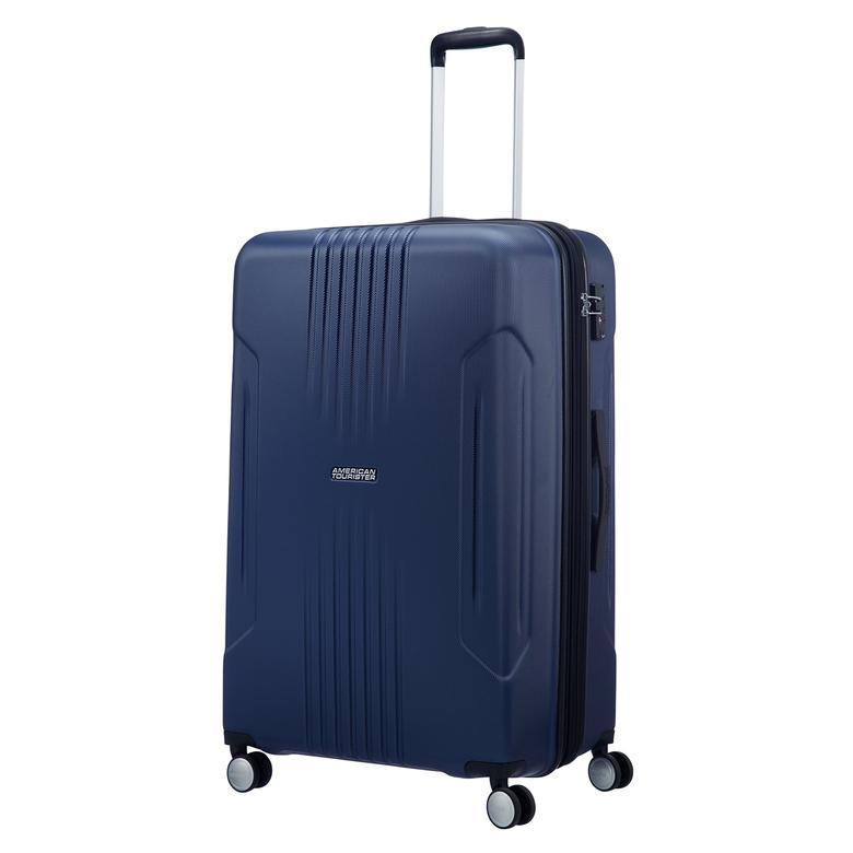 American Tourister Tracklite - Büyük Boy 78 cm Körüklü Sert Valiz 2010044178003