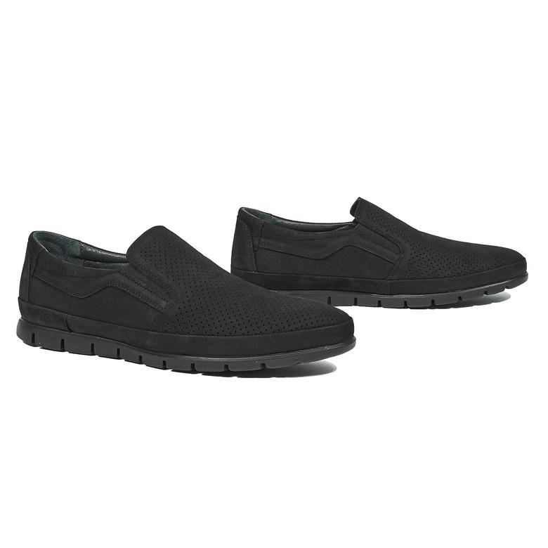 Teddeo Erkek Nubuk Deri Günlük Ayakkabı 2010044276002