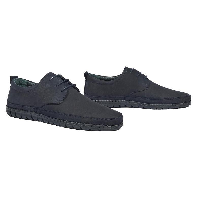 Santino Erkek Nubuk Deri Günlük Ayakkabı 2010044275002