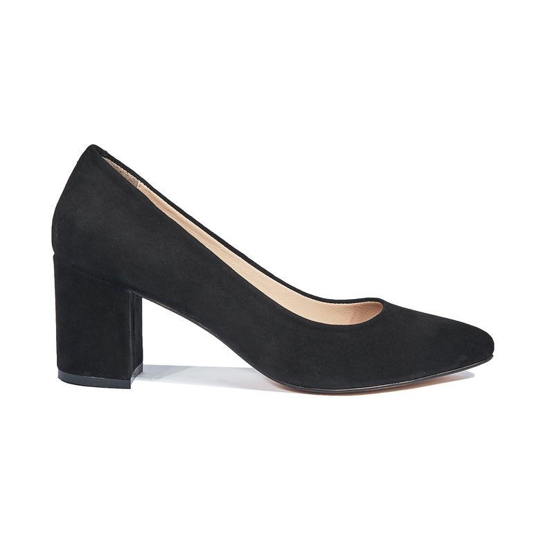 Eliot Kadın Süet Deri Klasik Ayakkabı 2010044343001