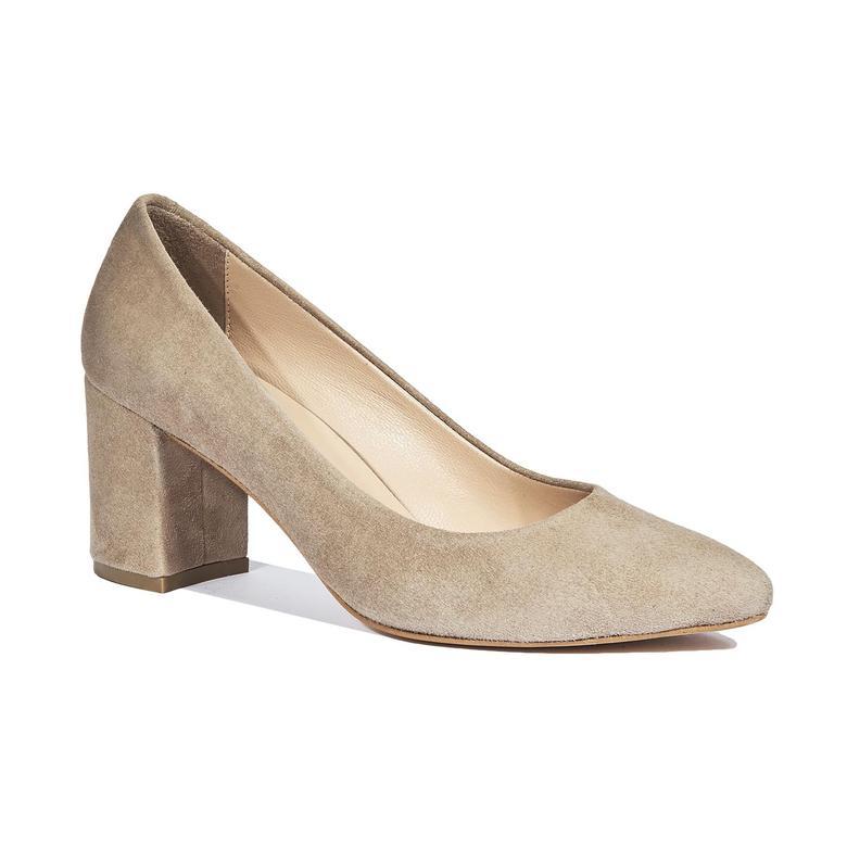 Eliot Kadın Süet Deri Klasik Ayakkabı 2010044343017