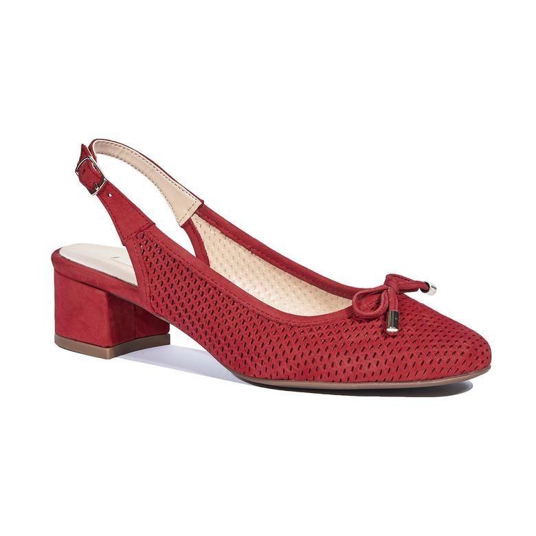 Deysi Kadın Nubuk Deri Klasik Ayakkabı 2010044344002