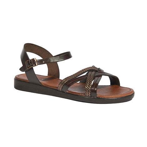 Ortansia Kadın Deri Sandalet 2010044385012