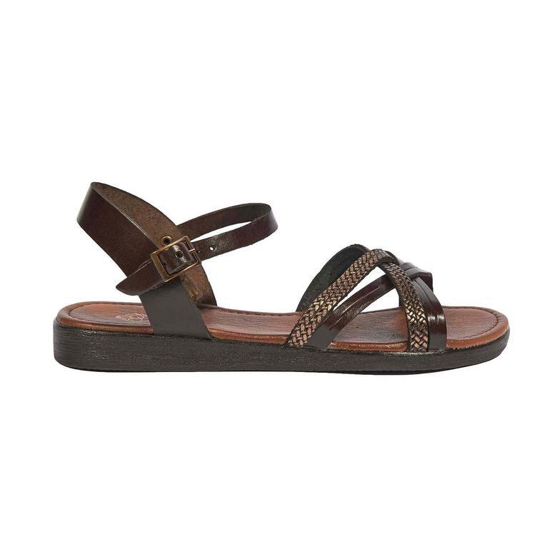 Ortansia Kadın Deri Sandalet 2010044385011