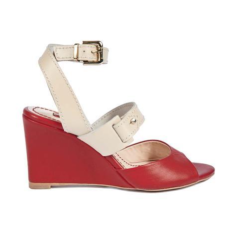 Kadın Dolgu Topuk Sandalet 2010037643011