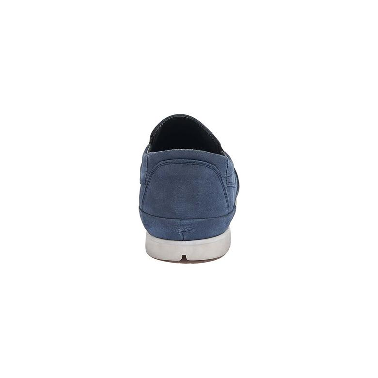 Teddeo Erkek Nubuk Deri Günlük Ayakkabı 2010044276011