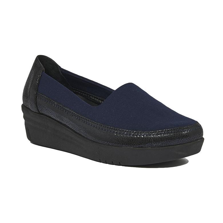 Lacivert Andi Kadın Günlük Ayakkabı 2010044231001