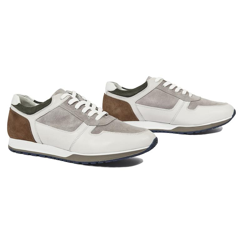 Marcio Erkek Süet Sneaker 2010044362002