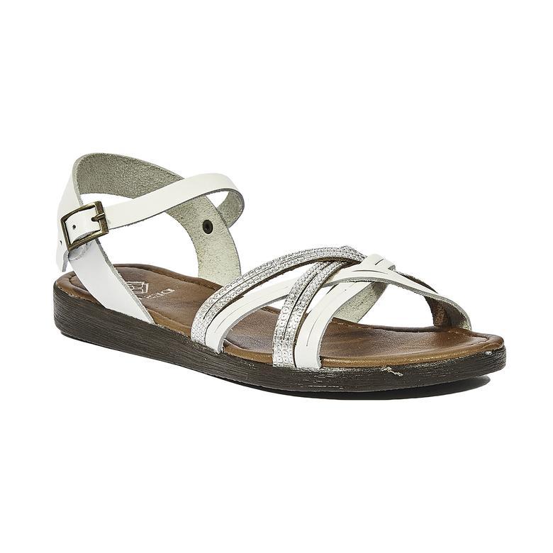 Ortansia Kadın Deri Sandalet 2010044385001