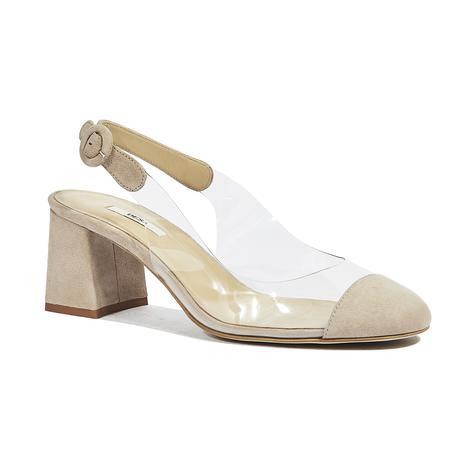 Aymen Kadın Süet Klasik Ayakkabı 2010044376002