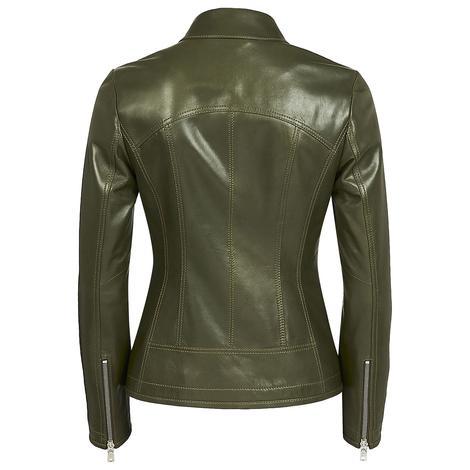 Alda Kadın Gömlek Yakalı Deri Ceket 1010028504002