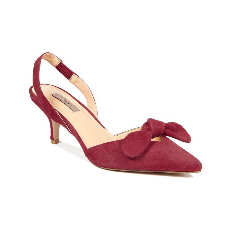 Maya Kadın Deri Klasik Topuklu Ayakkabı 2010042947001