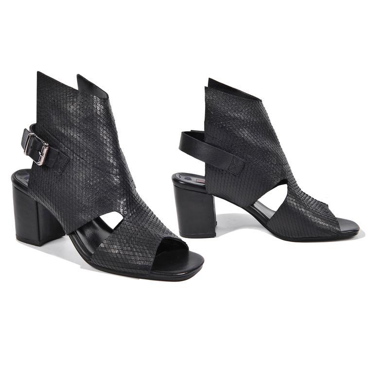 Ignis Kadın Deri Bootie Sandalet 2010042952001