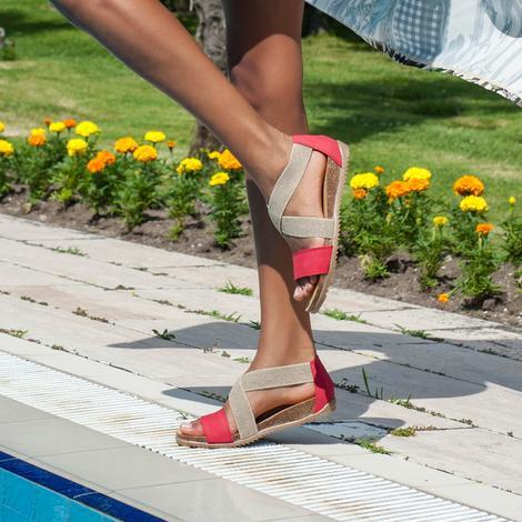 Dora Kadın Deri Sandalet 2010042958011