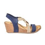 Fiona Kadın Dolgu Topuklu Deri Sandalet 2010042959008