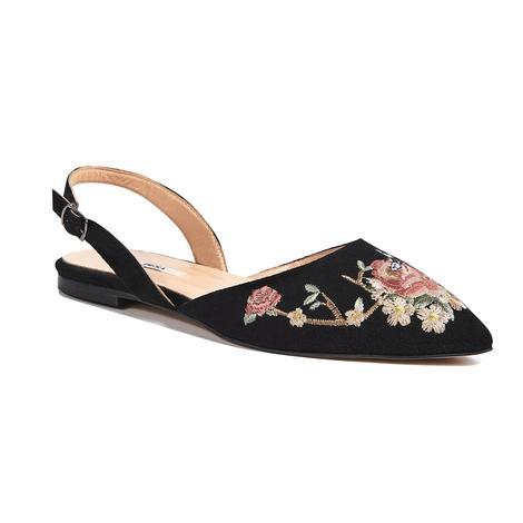 Fleur Kadın Süet Sandalet 2010042636002