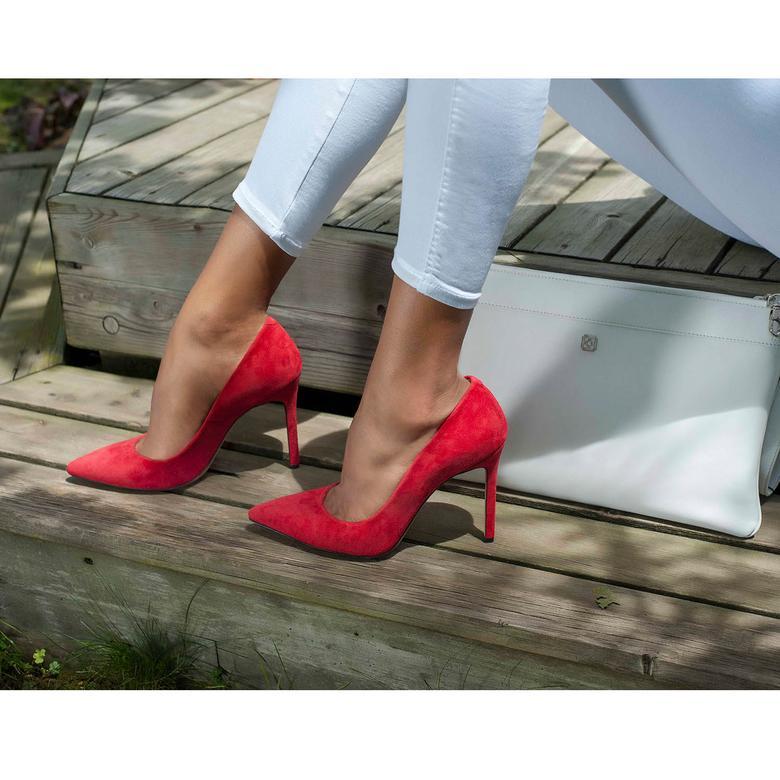 Mina Kadın İnce Topuk Süet Stiletto 2010042640001