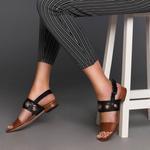Naida Kadın Deri Sandalet 2010042652006