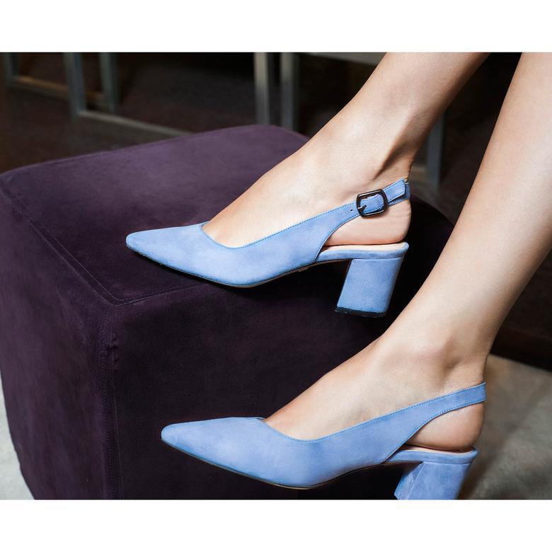 Heather Kadın Deri Klasik Topuklu Ayakkabı 2010042697011