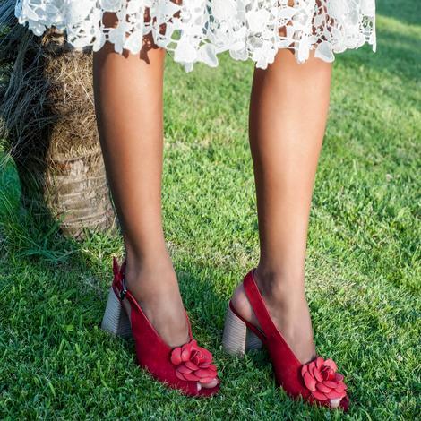 Freya Kadın Deri Topuklu Sandalet 2010042716001