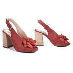 Freya Kadın Süet Topuklu Sandalet 2010042716001