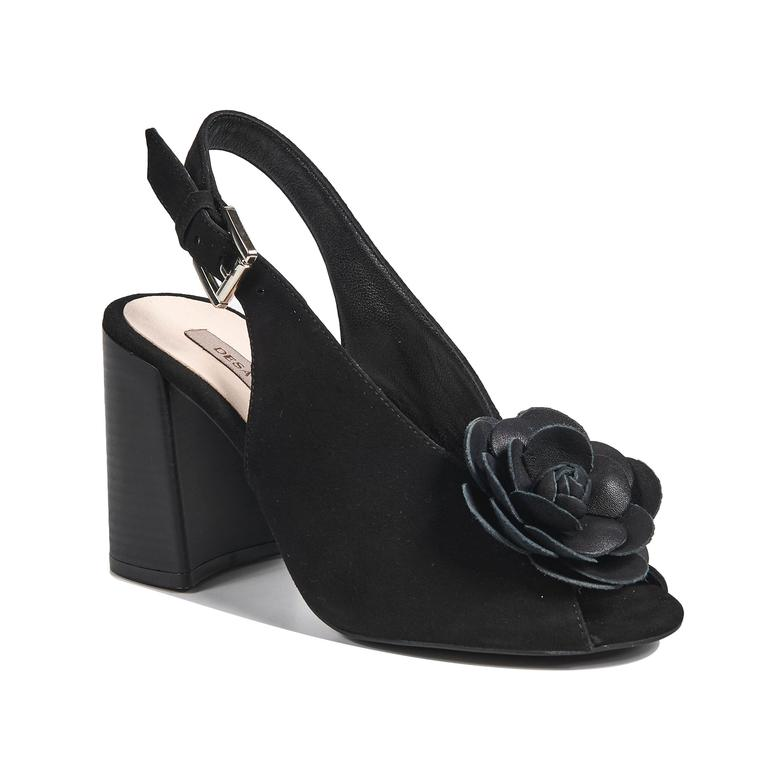 Freya Kadın Süet Topuklu Sandalet 2010042716007