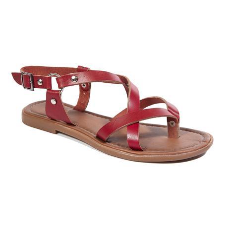 Kayla Kadın Deri Sandalet 2010043089001