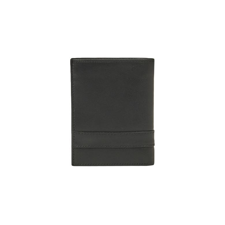 Şeritli Erkek Silky Deri Mini Cüzdan 1010025572002