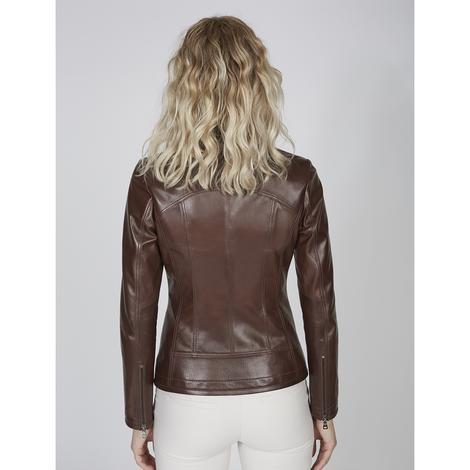 Alda Kadın Gömlek Yakalı Deri Ceket 1010028504008