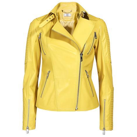 Cristina Kadın Deri Biker Ceket 1010028622002
