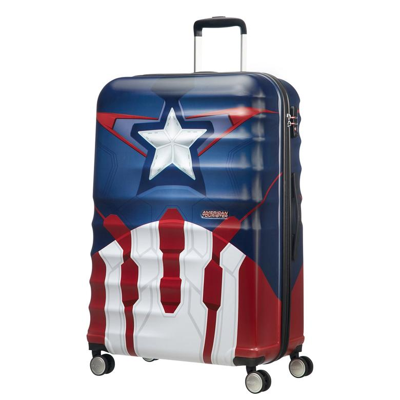 American Tourister Captain America Close-Up -  Büyük Boy 77cm  Valiz 2010044067001