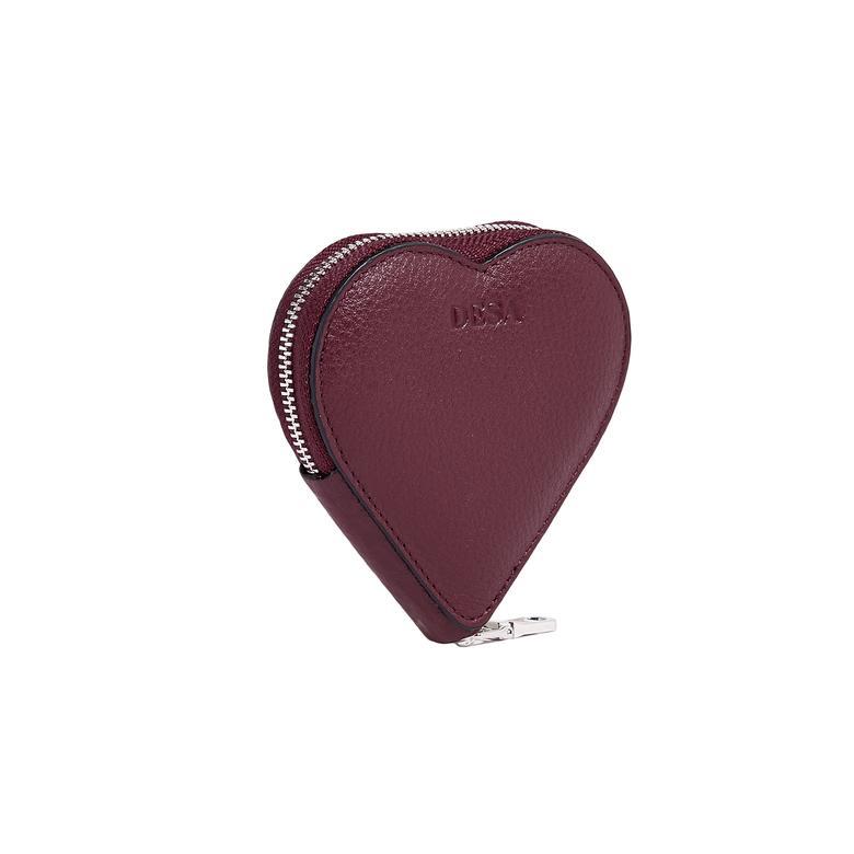 Zariah Kadın Deri Kalp Bozuk Para Cüzdanı 1010028353007