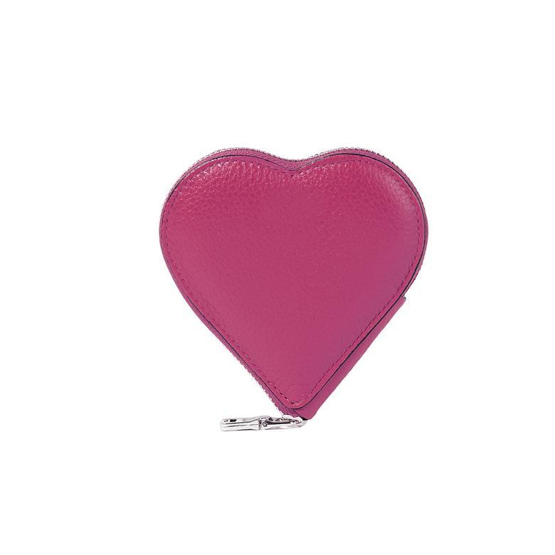Zariah Kadın Deri Kalp Bozuk Para Cüzdanı 1010028353003