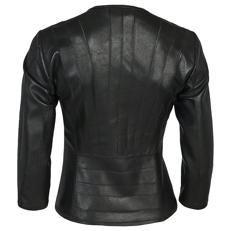 Menilis Kadın Panelli Biker 1010028423004