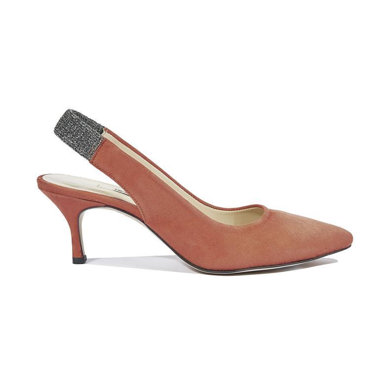 Donnola Kadın Süet Klasik Ayakkabı 2010044307011
