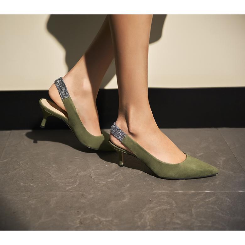 Donnola Kadın Süet Klasik Ayakkabı 2010044307007